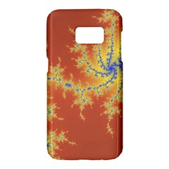 Fractals Samsung Galaxy S7 Hardshell Case  by 8fugoso