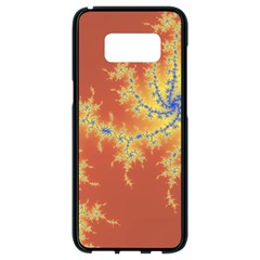 Fractals Samsung Galaxy S8 Black Seamless Case by 8fugoso