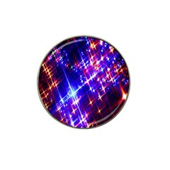 Star Light Space Planet Rainbow Sky Blue Red Purple Hat Clip Ball Marker (10 Pack) by Jojostore