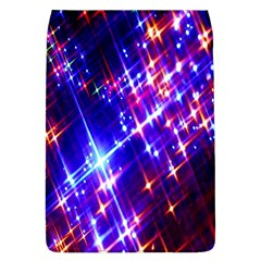 Star Light Space Planet Rainbow Sky Blue Red Purple Flap Covers (l)