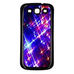 Star Light Space Planet Rainbow Sky Blue Red Purple Samsung Galaxy S3 Back Case (black) by Jojostore
