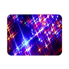 Star Light Space Planet Rainbow Sky Blue Red Purple Double Sided Flano Blanket (mini)  by Jojostore