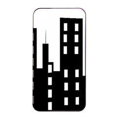 Tower City Town Building Black Apple Iphone 4/4s Seamless Case (black) by Jojostore