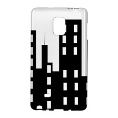 Tower City Town Building Black Galaxy Note Edge by Jojostore