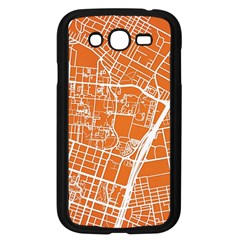 Texsas New York Map Art City Line Street Samsung Galaxy Grand Duos I9082 Case (black)