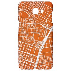 Texsas New York Map Art City Line Street Samsung C9 Pro Hardshell Case  by Jojostore