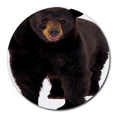 Brown Bears Animals Round Mousepads by Jojostore