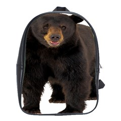 Brown Bears Animals School Bag (large)