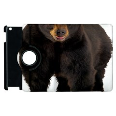 Brown Bears Animals Apple Ipad 3/4 Flip 360 Case by Jojostore