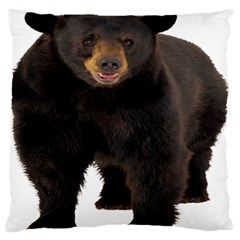 Brown Bears Animals Large Flano Cushion Case (one Side) by Jojostore