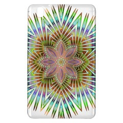 Star Flower Glass Sexy Chromatic Symmetric Samsung Galaxy Tab Pro 8 4 Hardshell Case