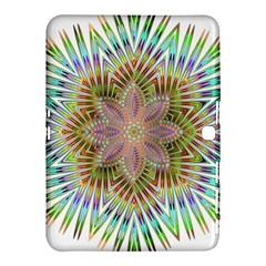 Star Flower Glass Sexy Chromatic Symmetric Samsung Galaxy Tab 4 (10 1 ) Hardshell Case  by Jojostore