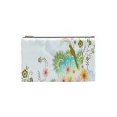 Wreaths Sexy Flower Star Leaf Rose Sunflower Bird Summer Cosmetic Bag (small)  by Mariart