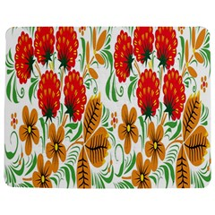 Flower Floral Red Yellow Leaf Green Sexy Summer Jigsaw Puzzle Photo Stand (rectangular) by Mariart