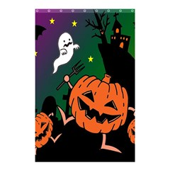 Happy Halloween Shower Curtain 48  X 72  (small)  by Mariart