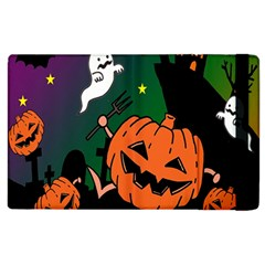 Happy Halloween Apple Ipad 3/4 Flip Case by Mariart