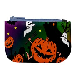 Happy Halloween Large Coin Purse
