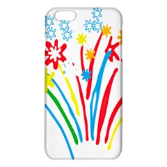 Fireworks Rainbow Flower Iphone 6 Plus/6s Plus Tpu Case by Mariart