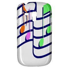 Music Note Tone Rainbow Blue Pink Greeen Sexy Galaxy S3 Mini by Mariart