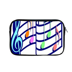 Music Note Tone Rainbow Blue Pink Greeen Sexy Apple Macbook Pro 13  Zipper Case by Mariart