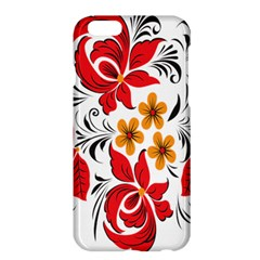 Flower Red Rose Star Floral Yellow Black Leaf Apple Iphone 6 Plus/6s Plus Hardshell Case by Mariart