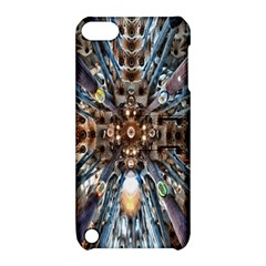 Iron Glass Space Light Apple Ipod Touch 5 Hardshell Case With Stand by Mariart