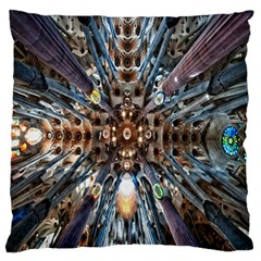 Iron Glass Space Light Large Flano Cushion Case (two Sides) by Mariart