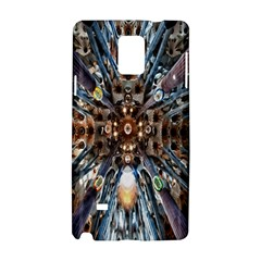 Iron Glass Space Light Samsung Galaxy Note 4 Hardshell Case by Mariart