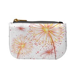 Fireworks Triangle Star Space Line Mini Coin Purses