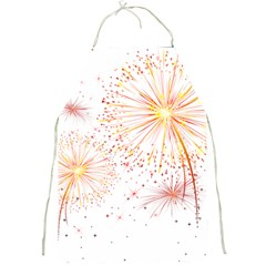 Fireworks Triangle Star Space Line Full Print Aprons