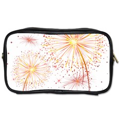 Fireworks Triangle Star Space Line Toiletries Bags by Mariart