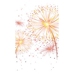 Fireworks Triangle Star Space Line Shower Curtain 48  X 72  (small)  by Mariart