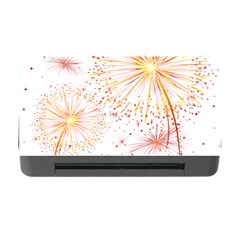 Fireworks Triangle Star Space Line Memory Card Reader With Cf by Mariart