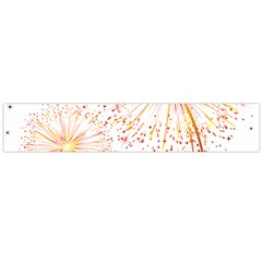 Fireworks Triangle Star Space Line Flano Scarf (large) by Mariart