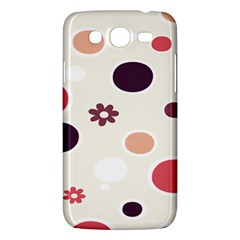 Polka Dots Flower Floral Rainbow Samsung Galaxy Mega 5 8 I9152 Hardshell Case  by Mariart