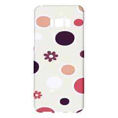 Polka Dots Flower Floral Rainbow Samsung Galaxy S8 Plus Hardshell Case  by Mariart