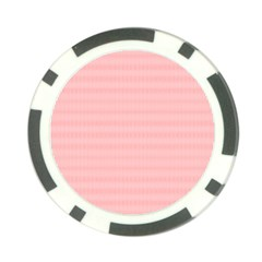 Red Polka Dots Line Spot Poker Chip Card Guard by Mariart