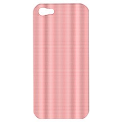 Red Polka Dots Line Spot Apple Iphone 5 Hardshell Case