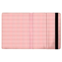Red Polka Dots Line Spot Apple Ipad 3/4 Flip Case by Mariart