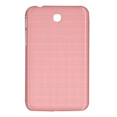 Red Polka Dots Line Spot Samsung Galaxy Tab 3 (7 ) P3200 Hardshell Case  by Mariart