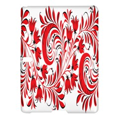 Red Flower Floral Leaf Samsung Galaxy Tab S (10 5 ) Hardshell Case  by Mariart