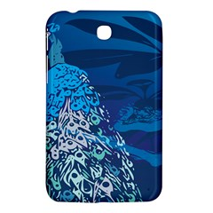 Peacock Bird Blue Animals Samsung Galaxy Tab 3 (7 ) P3200 Hardshell Case  by Mariart