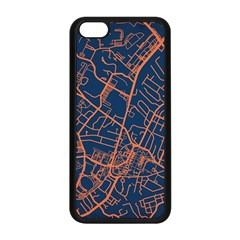 Virginia Map Art City Apple Iphone 5c Seamless Case (black) by Mariart