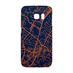 Virginia Map Art City Galaxy S6 Edge by Mariart