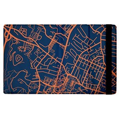 Virginia Map Art City Apple Ipad Pro 12 9   Flip Case