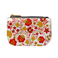 Wreaths Flower Floral Sexy Red Sunflower Star Rose Mini Coin Purses by Mariart
