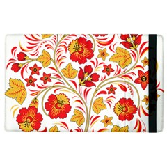 Wreaths Flower Floral Sexy Red Sunflower Star Rose Apple Ipad 2 Flip Case by Mariart