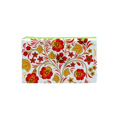 Wreaths Flower Floral Sexy Red Sunflower Star Rose Cosmetic Bag (xs) by Mariart