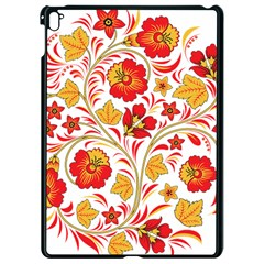 Wreaths Flower Floral Sexy Red Sunflower Star Rose Apple Ipad Pro 9 7   Black Seamless Case by Mariart