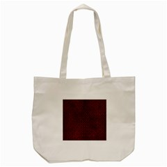 Hexagon1 Black Marble & Reddish Brown Leather Tote Bag (cream) by trendistuff